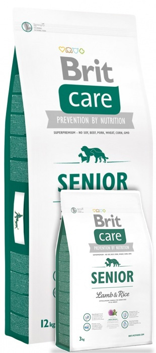 Brit Care Senior Lamb & Rice 12+3 kg
