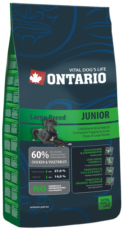ONTARIO Junior Large Breed 13kg