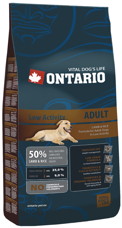 ONTARIO Low Activity Lamb 13kg