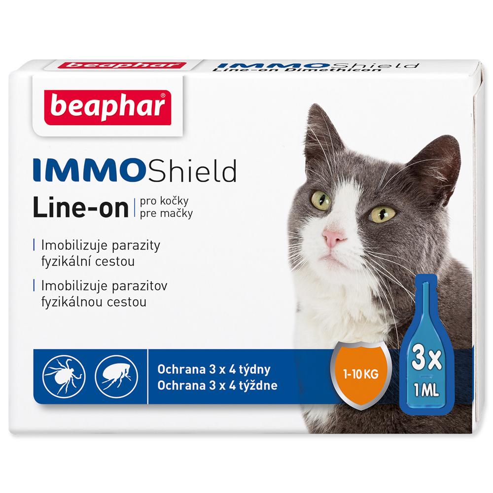Beaphar IMMO Shield Line-on pro kočky BEAPHAR Line-on IMMO Shield pro kočky 3ml