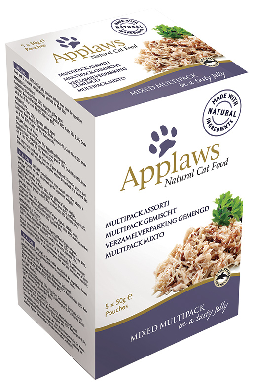 Kapsičky APPLAWS Cat Mixed Meat in Jelly multipack 250g