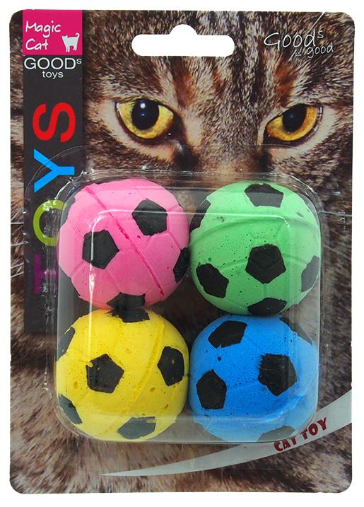 Hračka MAGIC CAT míček pěnový fotbalový 3,75cm