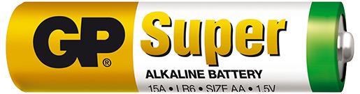 Náhradní baterie DOGTRACE GP Super Alkaline 1,5V AA