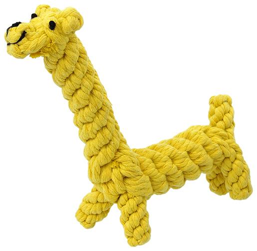 Hračka DOG FANTASY žirafa 16cm