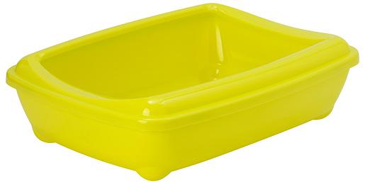 Toaleta Magic Cat Economy s okrajem 50x38x14cm žlutá