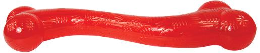 Hračka DOG FANTASY Strong kost gumová dlouhá červená 30,4cm