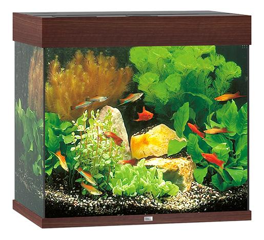 Juwel Akvárium set Lido LED 120 tm. hnědé