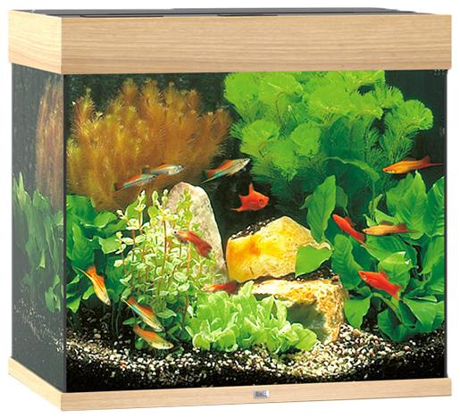Akvárium set JUWEL Lido LED 120 dub