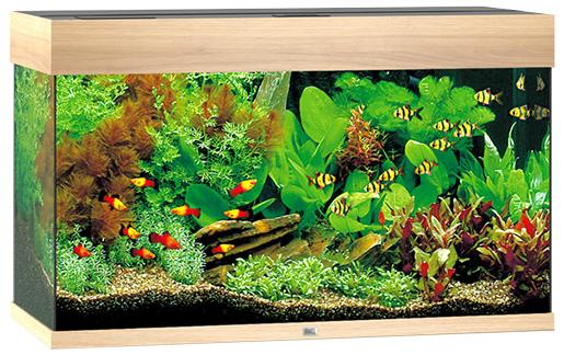 Akvárium set JUWEL Rio LED 125 dub