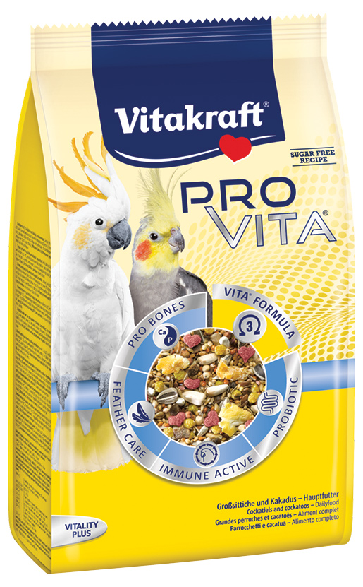 Vitakraft Pro Vita střední papoušek 750g