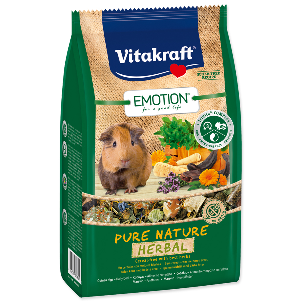 Vitakraft Emotion herbal morče 600g