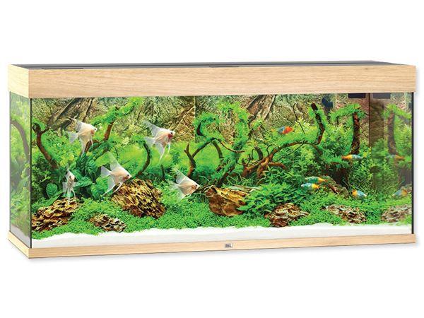 Akvárium set JUWEL Rio LED 240 dub