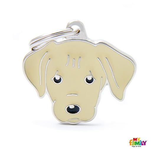 Známka My Family Friends Labrador krémový