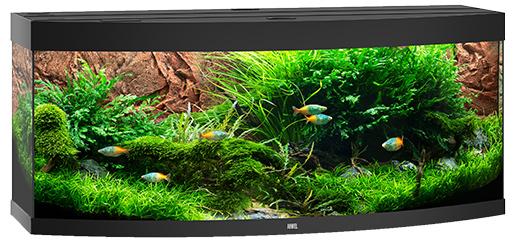 Juwel Akvárium set Vision LED 450 černé 151*61*64cm,450l