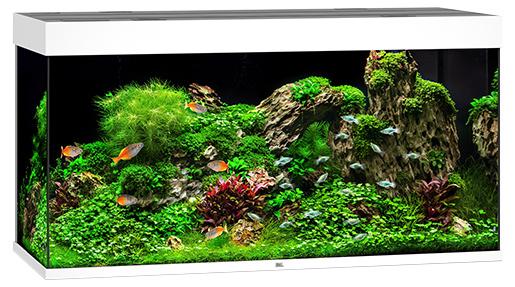 Juwel Akvárium set Rio LED 350 bílé 121*51*66cm,350l
