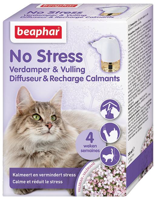 Beaphar Difuzér No Stress sada Kočka 30ml