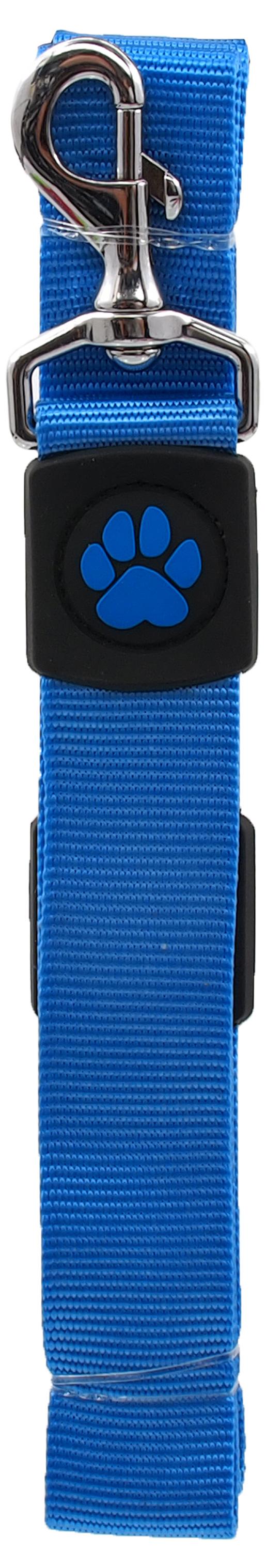 Dog Fantasy Vodítko Active Dog Premium XL modré 3,8x120cm