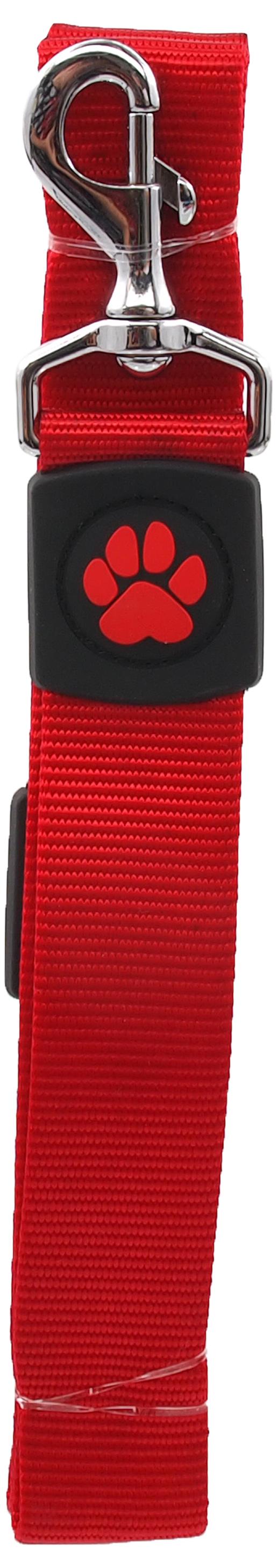 Dog Fantasy Vodítko Active Dog Premium XL červené 3,8x120cm