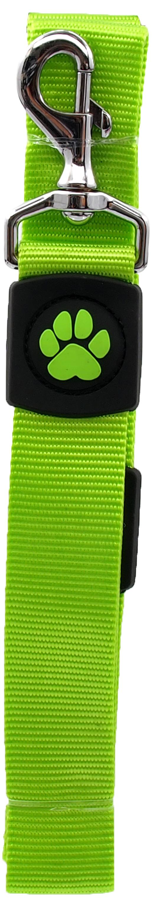 Dog Fantasy Vodítko Active Dog Premium XL limetka 3,8x120cm