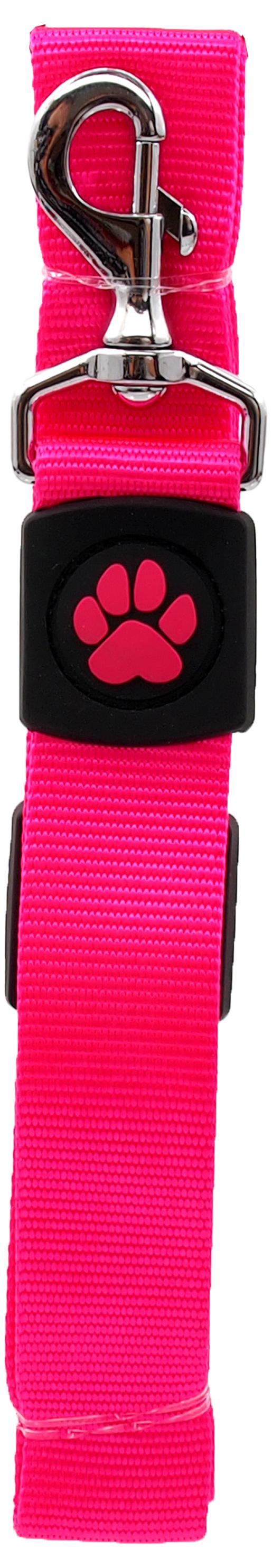 Dog Fantasy Vodítko Active Dog Premium XL růžové 3,8x120cm