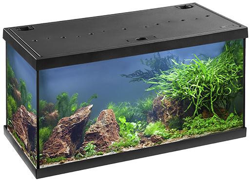 Akvárium set EHEIM Aquastar LED černý 54l, 60*33*33