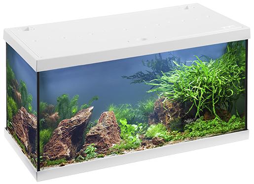 Akvárium set EHEIM Aquastar LED bílý 54l, 60*33*33