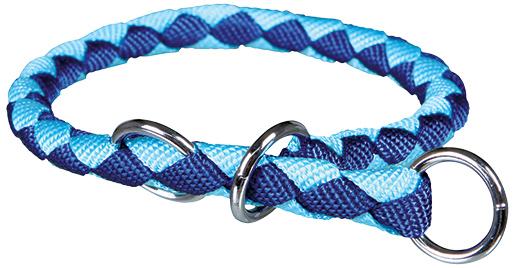 Obojek pro psy Cavo Trixie modrá/světle modrá M-L 43cm