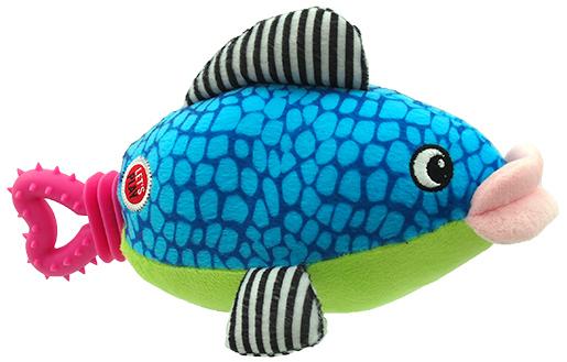 Lets Play Hračka Let´s Play ryba modrá 25cm