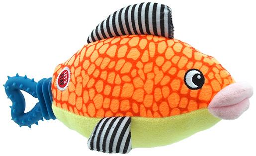 Lets Play Hračka Let´s Play ryba oranžová 25cm