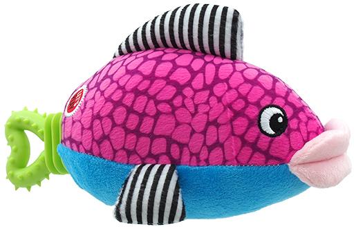 Lets Play Hračka Let´s Play ryba fialová 25cm