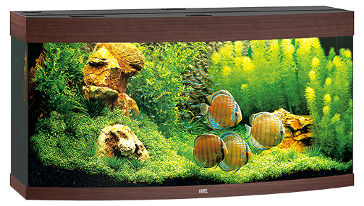 Juwel Akvárium set Vision LED 260 tm.hnědé 121*46*64cm,260l
