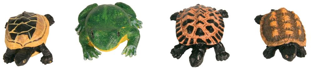 Dekorace TRIXIE žáby, želvy