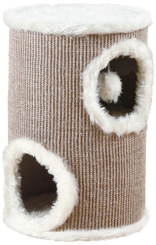 Škrabadlo Trixie Edoardo Cat Tower 50cm krémovo-hnědé