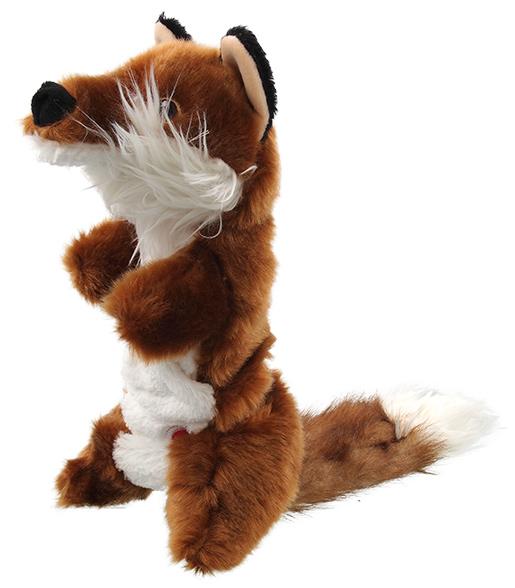 Hračka Dog Fantasy Plush pískací liška 45cm