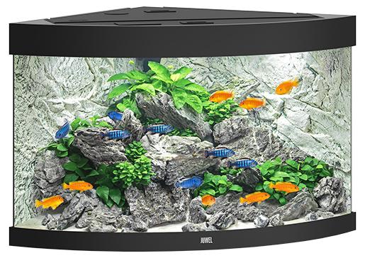 Juwel Akvárium set Trigon LED 190 černé 98,5x70x60cm 190l