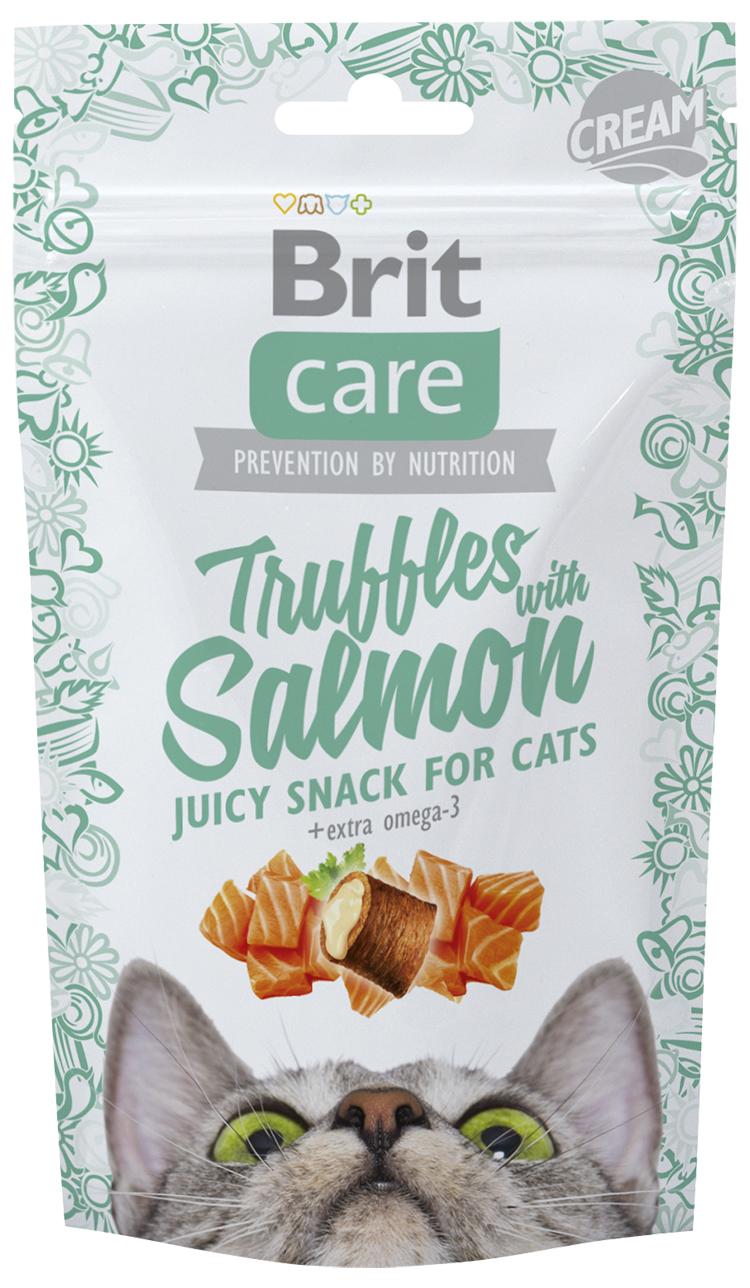Brit Care Cat Snack Truffles Salmon 50g