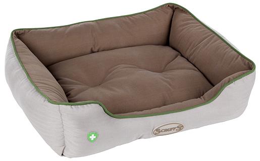 Scruffs Insect Shield Box Bed 60 x 50cm hnědý