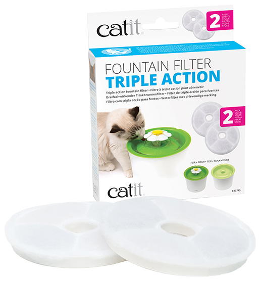 Cat It Náplň filtr. Catit 2.0 Triple Action 2ks