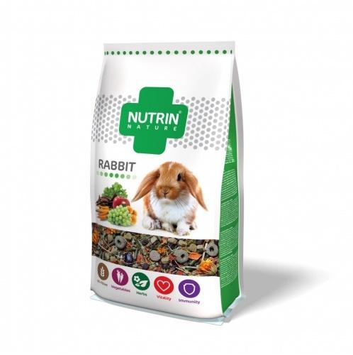 Kompletní krmivo NUTRIN Nature pro králíky 750g