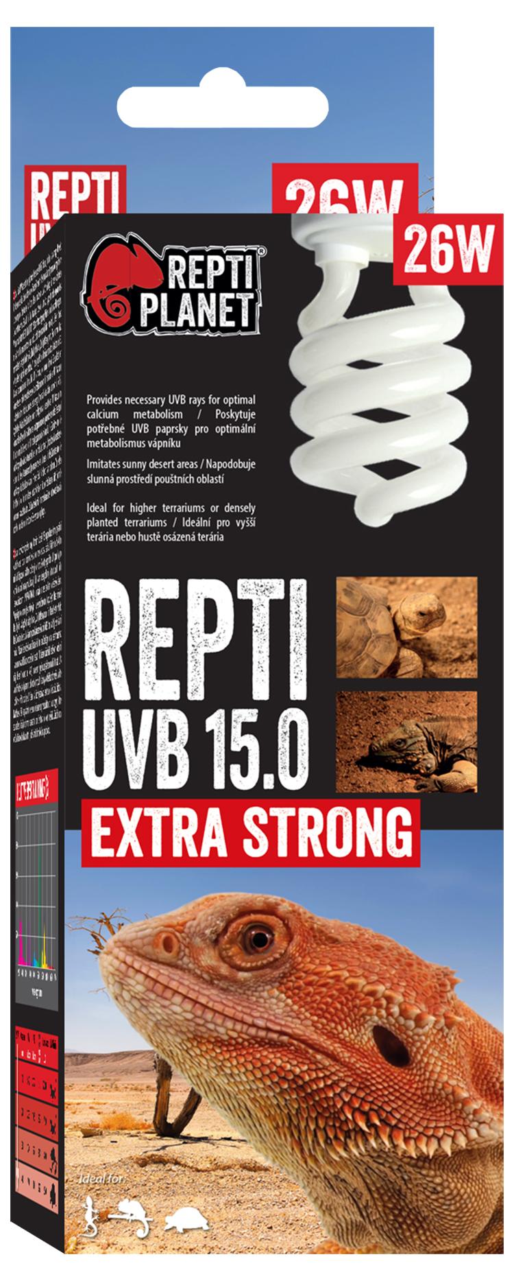 Repti Planet žárovka Compact-Fluorescent UVB 15.0 26W