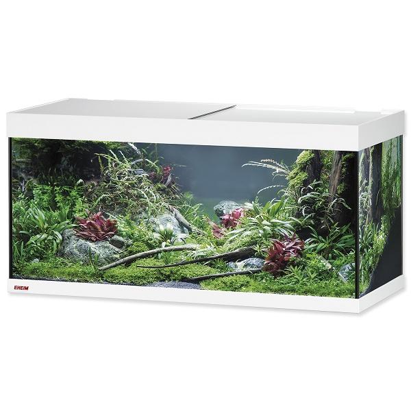 Akvárium set EHEIM Vivaline LED bílý 180l, 100*40*45