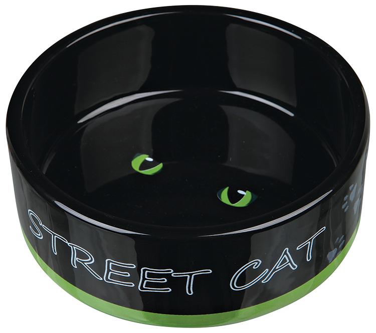 TRIXIE Miska keramická Street Cat 12cm 0,3l