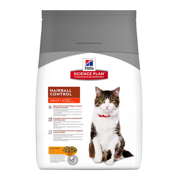 Hill's HILL`S Science Plan Feline Adult Hairball 5kg