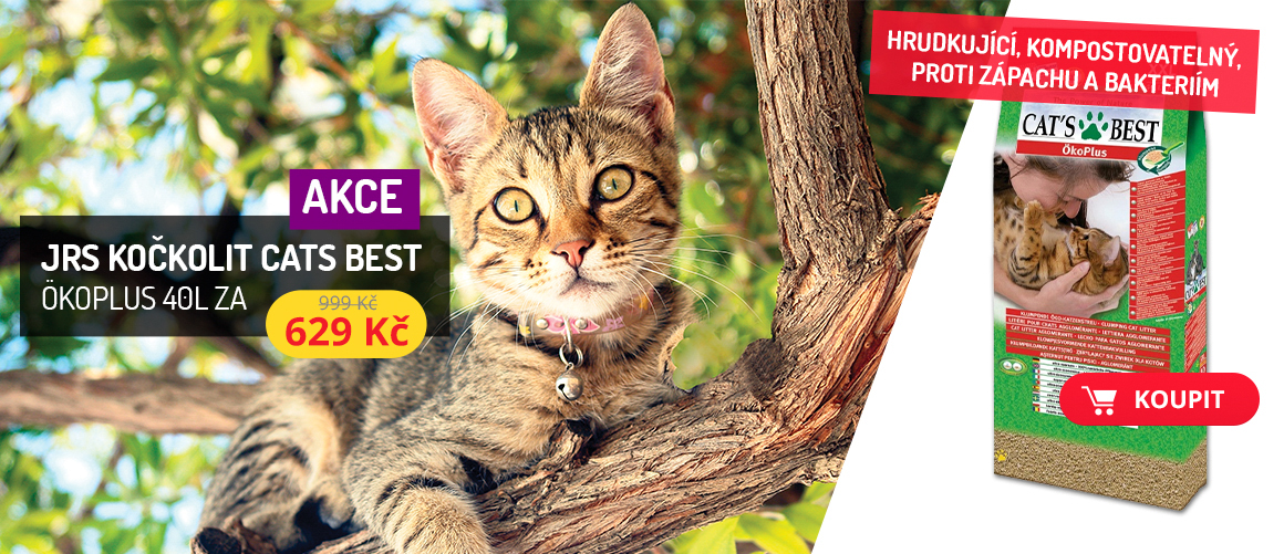 Podestýlka JRS Cats Bes 40l  jen za 629 Kč