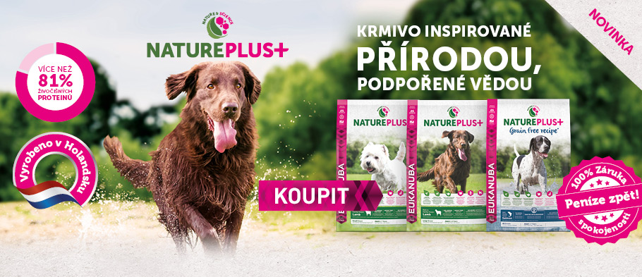 NOVINKA Eukanuba Nature Plus+
