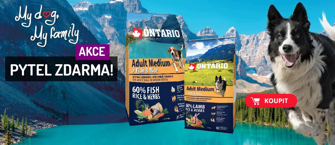PYTEL ZDARMA k vybraným balením Ontario