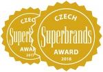 Obhájili jsme prestižní titul Czech Superbrands 2018