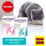 Veterinární kapsičky pro kočky na prodejnách i e-shopu