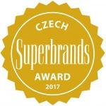 Získali jsme prestižní titul Czech Superbrands 2017