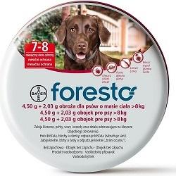 Antiparazitní obojek Foresto